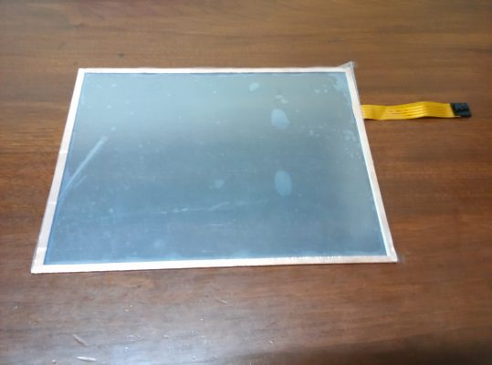 For EMI Shielding Touch Panel